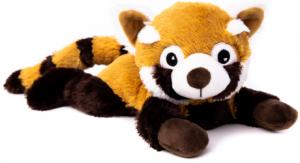 Värmenalle Röda Pandan Penny (tvättbar) från Habibi Plush (micronalle) säljs på Nalleriet.se