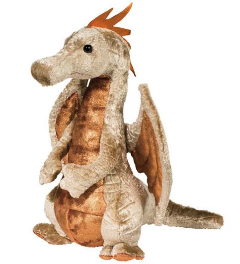 Draken Elgar, beige - Douglas Mjukisdjur