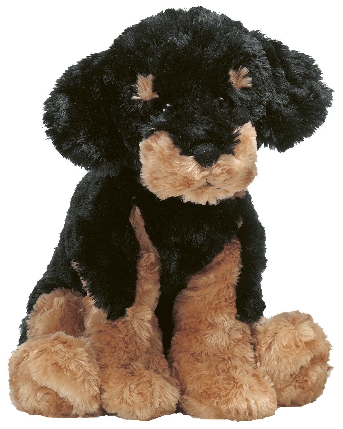 Teddy Hund, svart/brun - Teddykompaniet