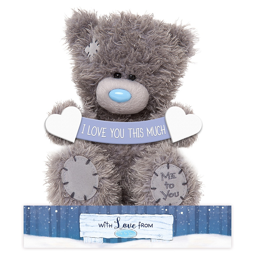 Nalle I love you this much, 15cm - Me To You (Miranda Nalle)