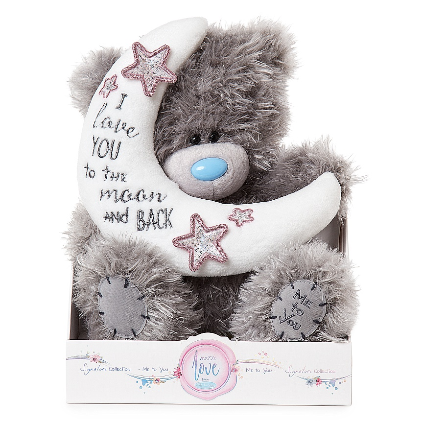 "Nalle """"Love you to the moon..."""", 20cm - Me to you"