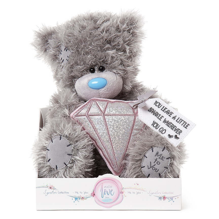 "Nalle med diamant """"A sparkle"""", 20cm - Me to you"
