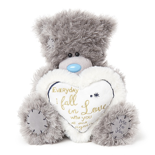 "Nalle """"Everyday I fall in love"""", 20cm - Me to you"