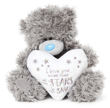 Nalle Love you more than the stars, 20cm