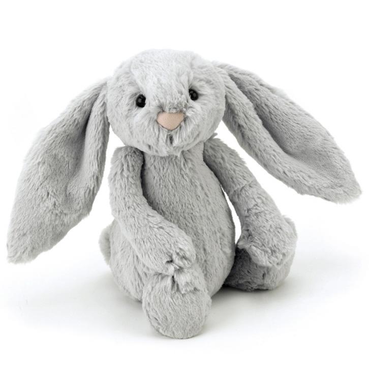 Bashful Kanin grå, 31cm - Jellycat