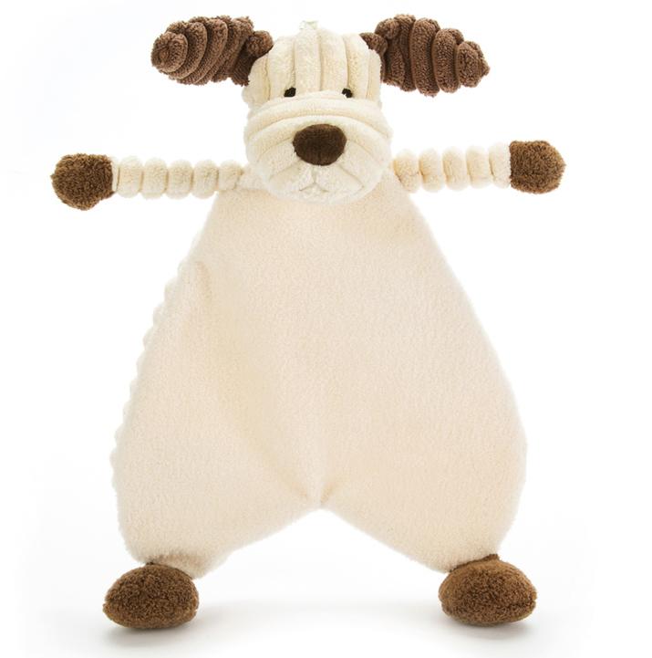 Cordy Roy Baby Valp Snuttefilt, 23cm - Jellycat