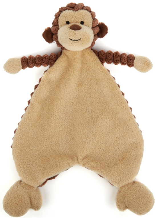 Cordy Roy Baby Apa Snuttefilt, 23cm - Jellycat