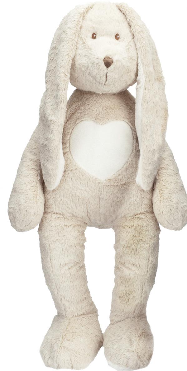 Kanin Teddy Cream XL, 70cm, Stort mjukisdjur - Teddykompaniet