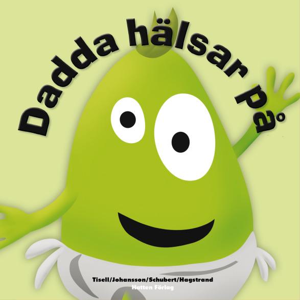 """Bok """"""""Dadda hälsar på"""""""" - Babblarna (Teddykompaniet)"""