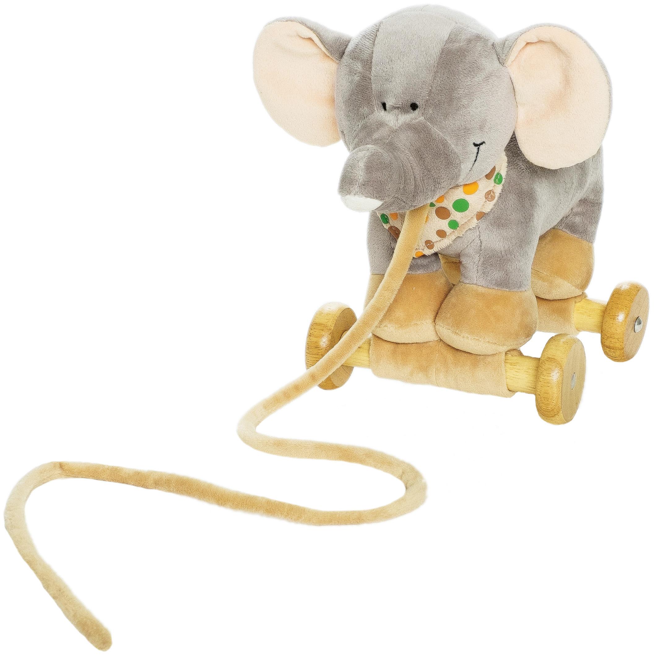 Diinglisar Dragdjur, Elefant - Teddykompaniet