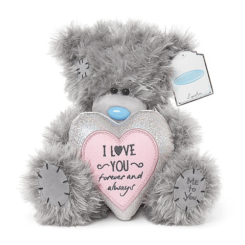 "Nalle """"I love you forever and always"""", 20cm - Me to you"