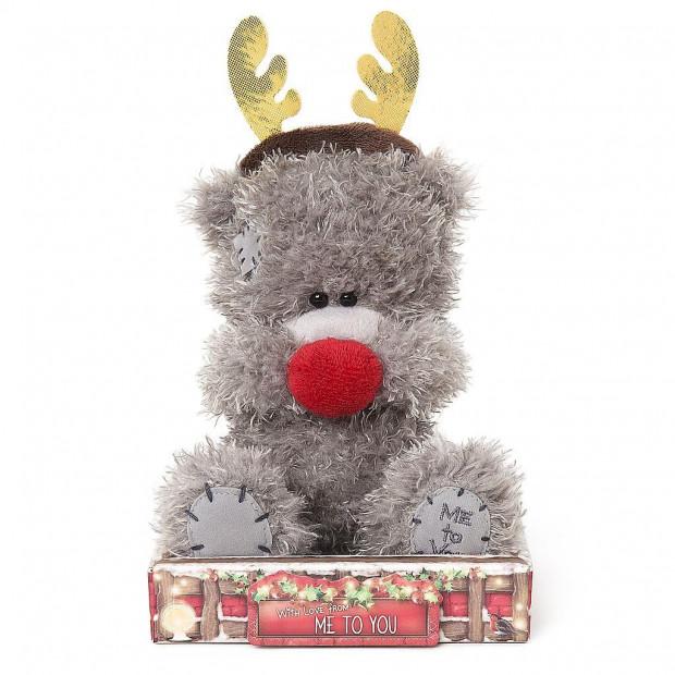 Nalle utklädd till julren, 15cm - Me to you (Miranda nalle)