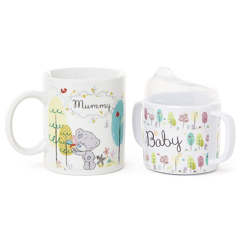 Tatty Teddy-set Mamma/Barn Mugg - Me to you (Miranda nalle)
