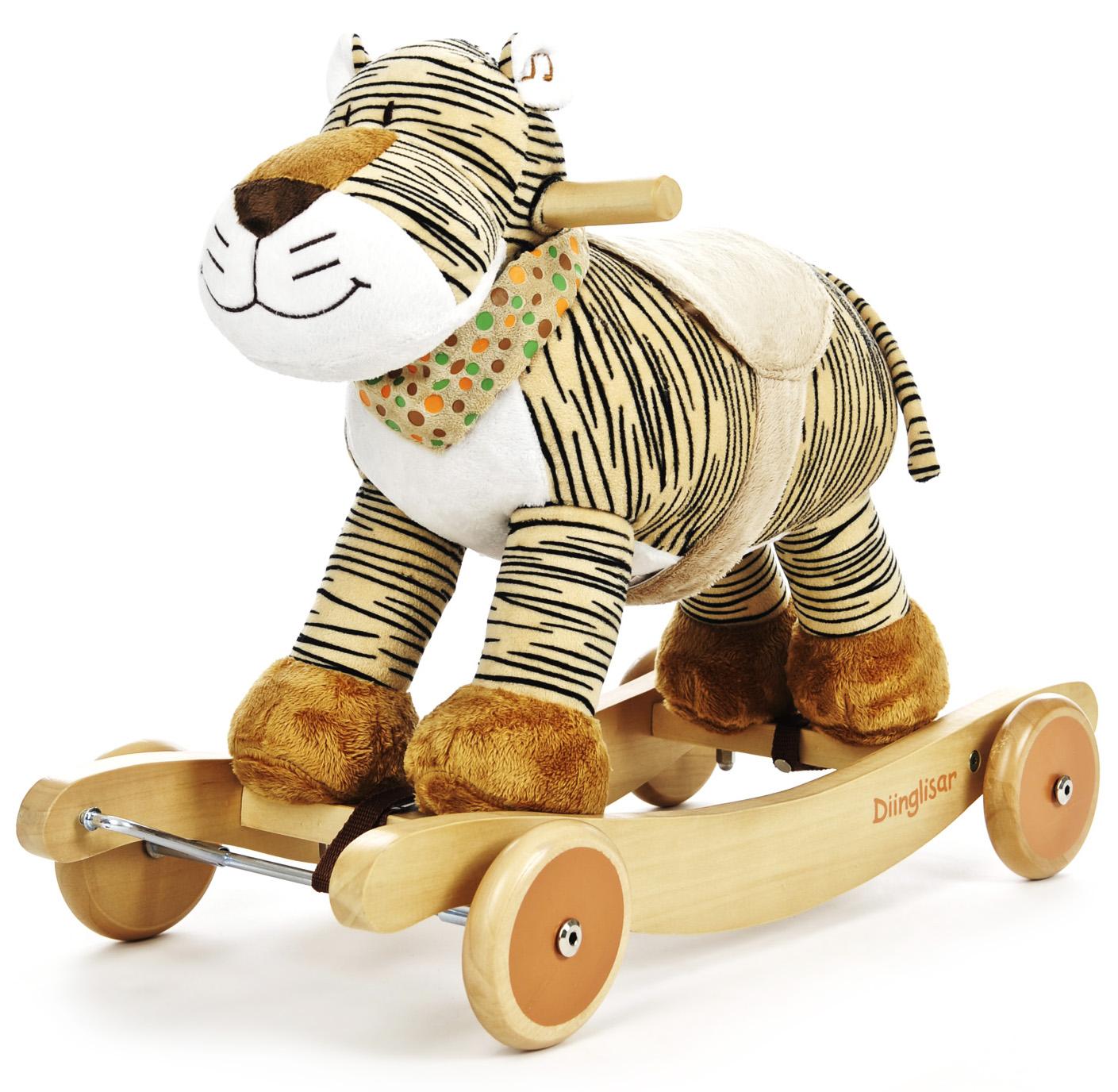 Diinglisar Gungdjur, Tiger - Teddykompaniet