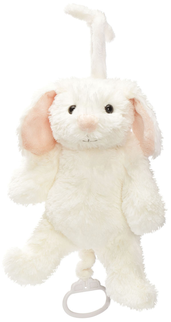 Speldosa Kaninen Lollan, 27cm - Teddykompaniet (Brahms vaggvisa)