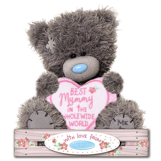 Nalle Best Mummy, 15cm - Me To You