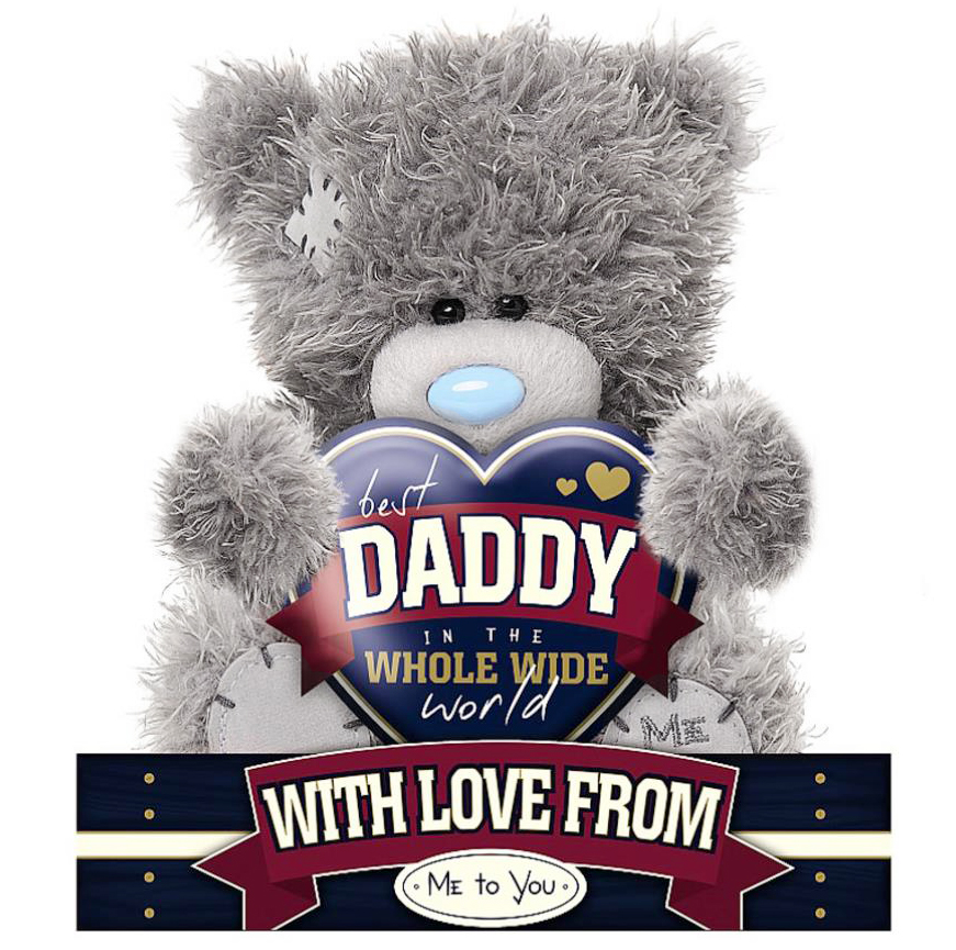 "Nalle ""Best Daddy"", 15cm - Me to you (Miranda nalle)"