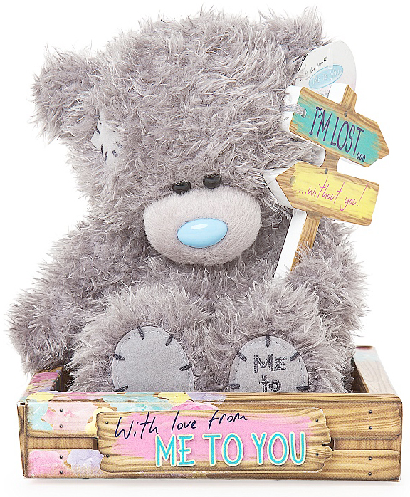 "Nalle """"I'm lost without you"""", 15cm - Me to you (Miranda nalle)"