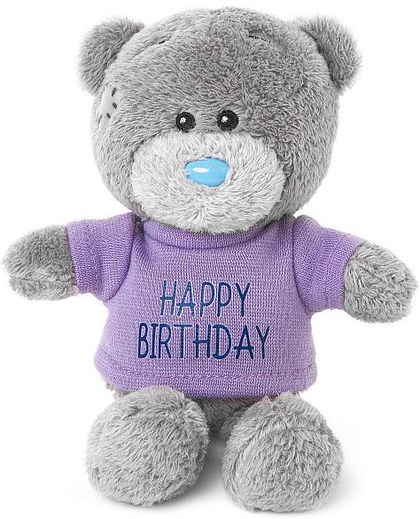 Nalle Happy Birthday, 10cm - Me to you (Mirandanalle)
