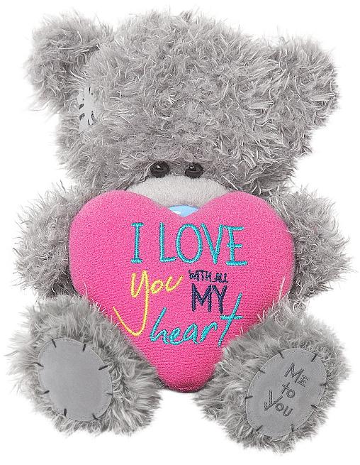 """Nalle med hjärta """"""""I love you..."""""""", 15cm - Me to you (Miranda nalle)"""