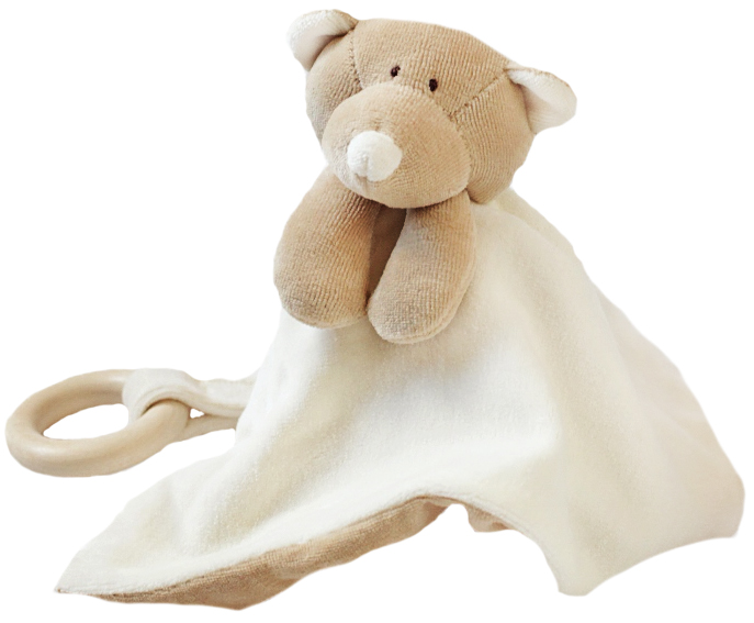 Wooly Nallesnuttefilt - Ekologiskt mjukisdjur