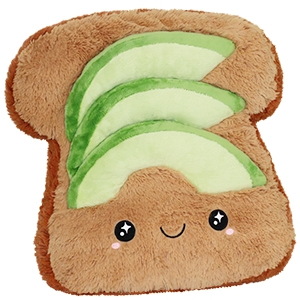 Avokado Toast - Squishable | Nalleriet.se