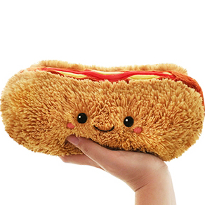 Hot Dog (Varmkorv) Mjukis - Squishable | Nalleriet.se