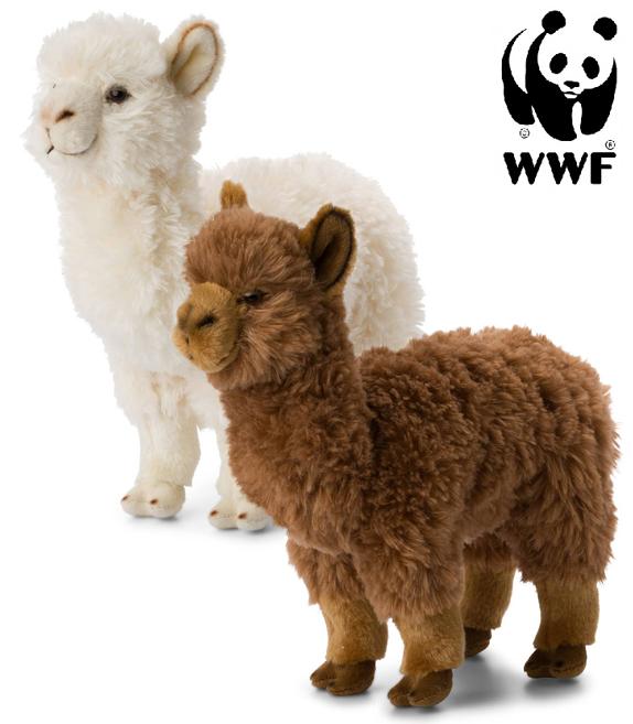 Alpacka - WWF (Världsnaturfonden) (Vit päls)