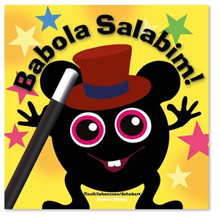 "Bok """"Babola Salabim"""" - Babblarna (Teddykompaniet)"