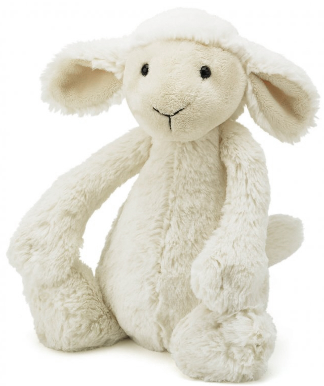 Bashful Lamm (vit), 30cm - Jellycat