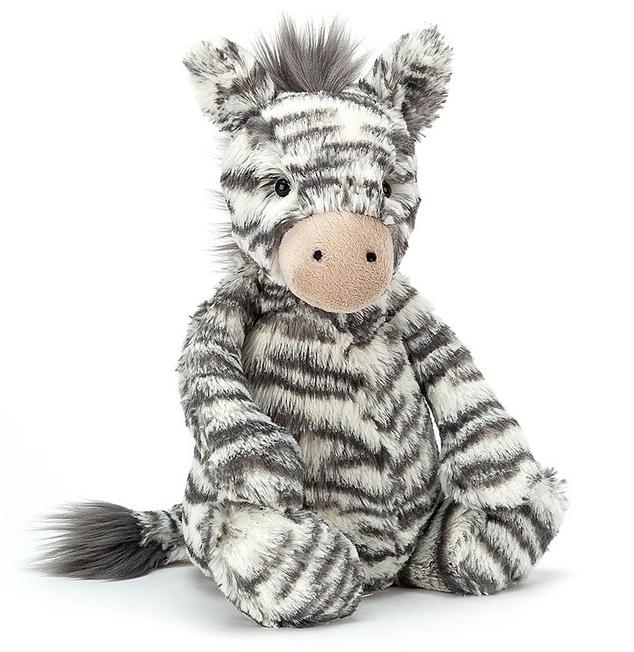 Bashful Zebra, 30cm - Jellycat