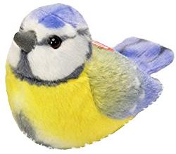 Blåmes med fågelläte, 14cm från Wild Republic
