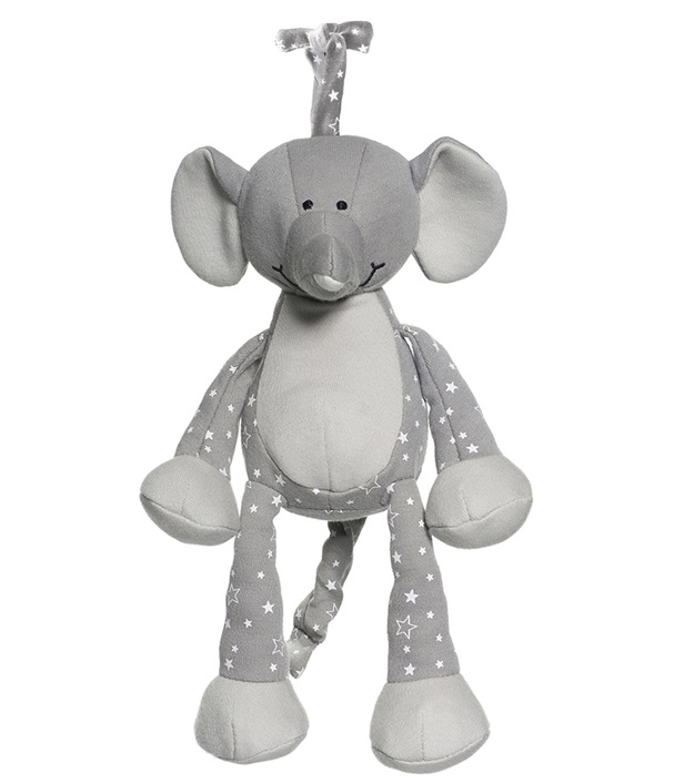 Diinglisar Organic Speldosa Elefant - Teddykompaniet