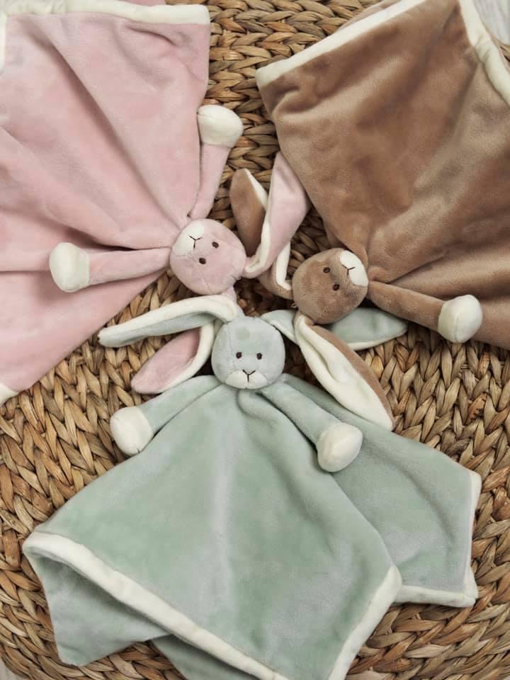 Diinglisar Snuttefilt Special Edition kanin, brun - Teddykompaniet