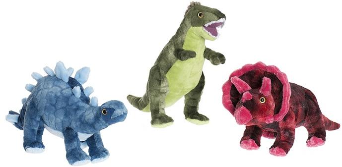 Teddy Dino - Teddykompaniet (Blå (Stegosaurus))