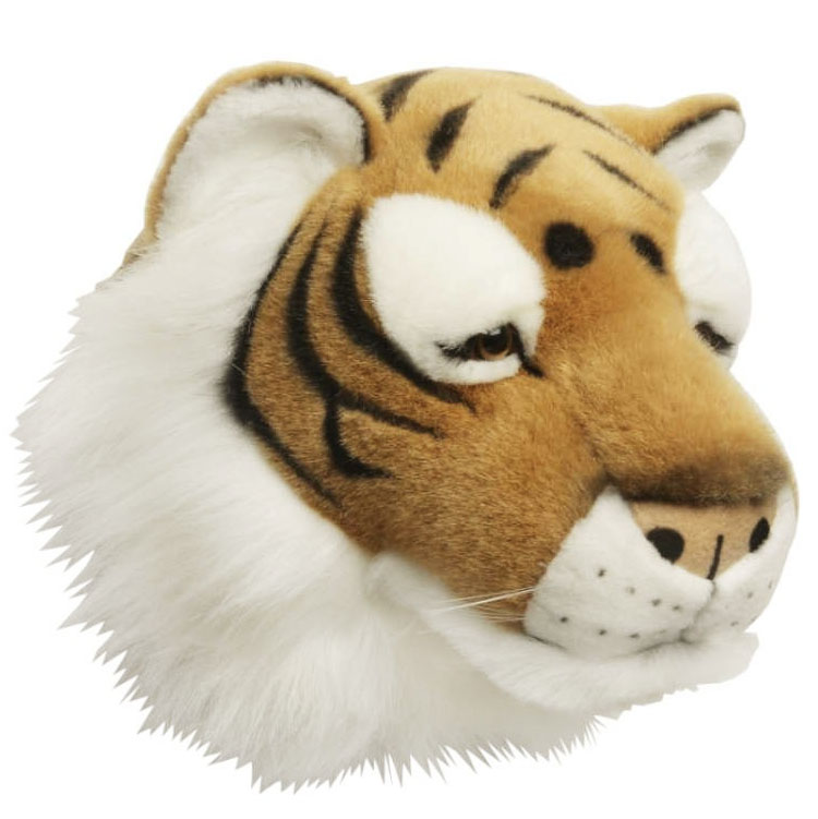 Tigerhuvud Väggprydnad - Brigbys