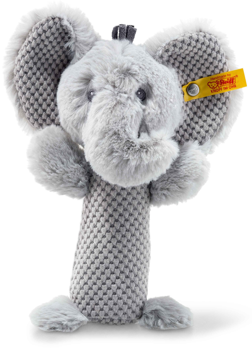 Ellie Elefant skallra, Soft Cuddly Friends - Steiff