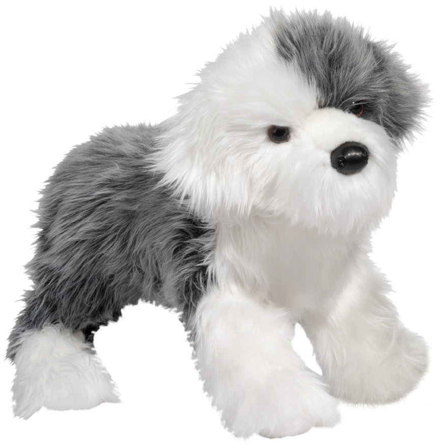 English Sheepdog (Stort mjukisdjur) - Douglas Mjukisdjur