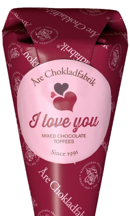 I love you - Åre Chokladfabrik