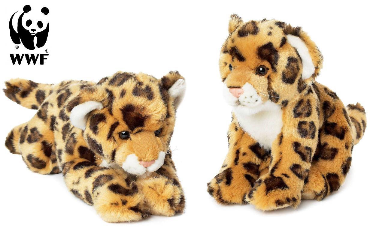 Jaguar - WWF (Världsnaturfonden) (Liggande (33cm))