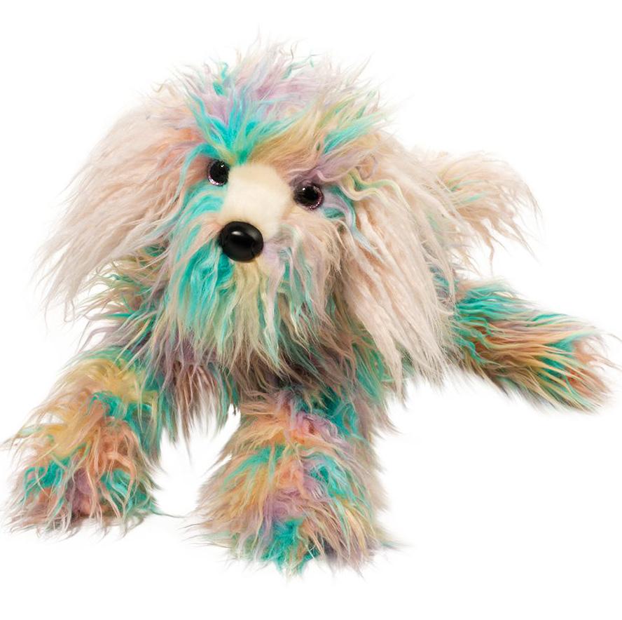 Rainbow Fuzzle Jaxton (hund) - Douglas Mjukisdjur