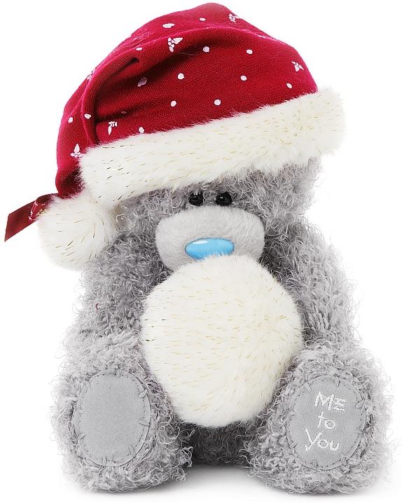 Julnalle med snöboll , 15cm - Me to you (Miranda nalle)
