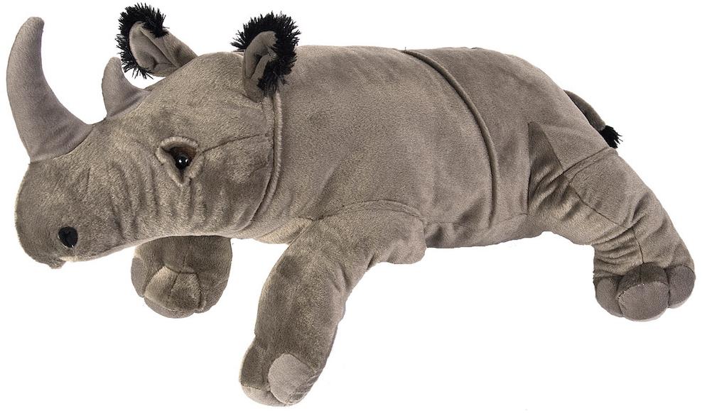 Jumbo Noshörning, 76cm - Wild Republic