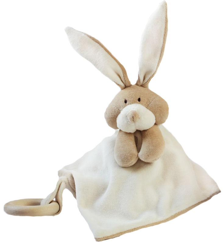 Wooly Kaninsnuttefilt - Ekologiskt mjukisdjur