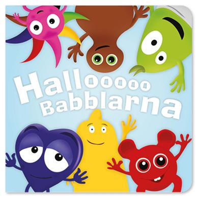 """""""""""Hallooo"""""""", kartongbok - Babblarna (Teddykompaniet)"""