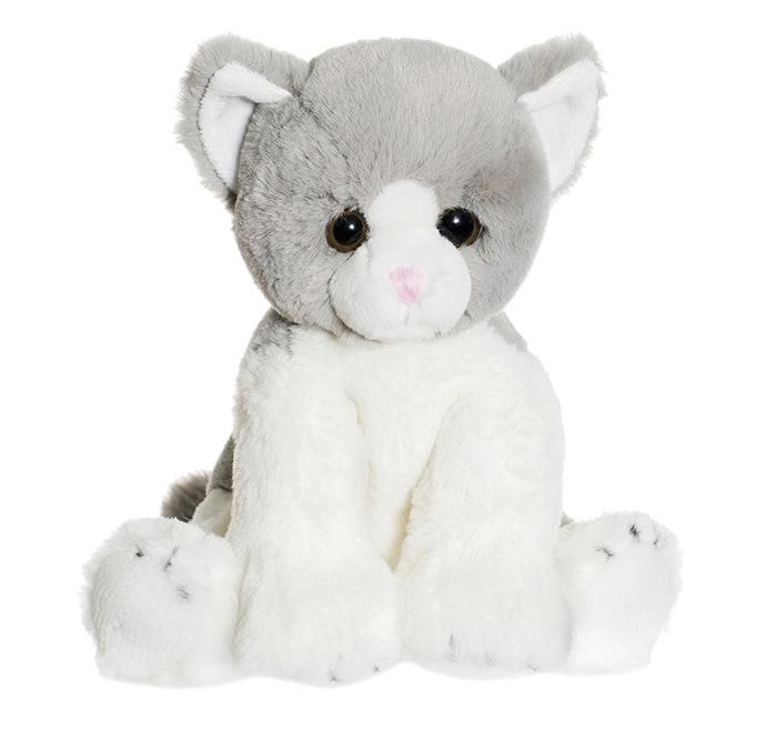 Katten Maja, grå/vit - Teddykompaniet