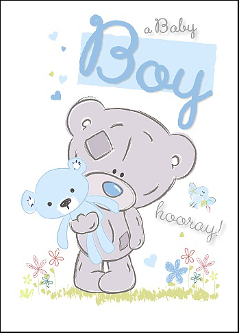 Kort, It's a Boy - Me To You