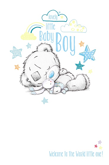Kort, Lovely little Baby Boy - Me To You