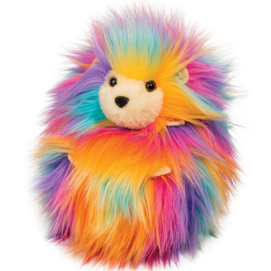 Rainbow Fuzzle Leon (Igelkott) - Douglas Mjukisdjur