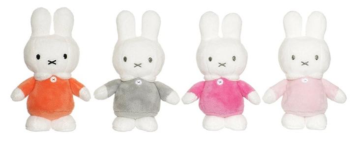 Miffy, liten (15cm) - Teddykompaniet (Ljusrosa klänning)